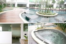 Lifestyle Facilities   Pool Deck with Jacuzzi & Steam Room