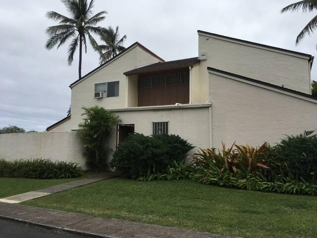 5 min drive to Kailua beach - Kailua
