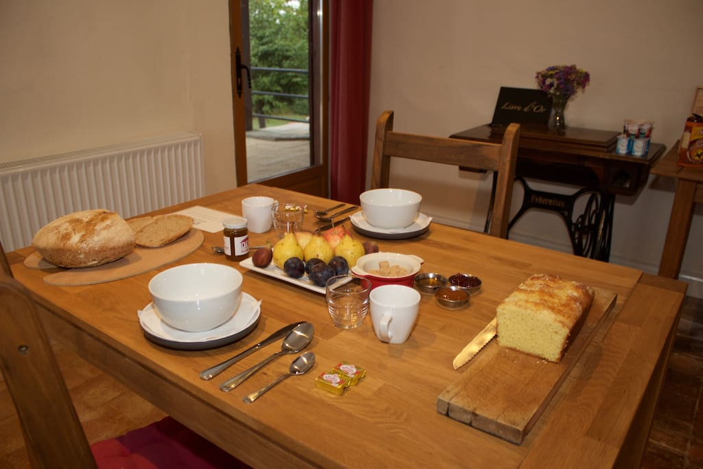 Breakfast is included in the price of your stay.