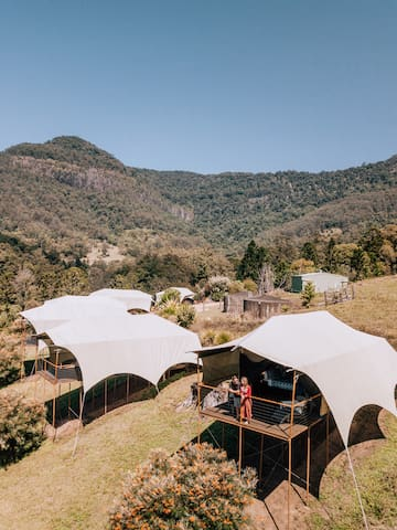 Glamping Tent Experience