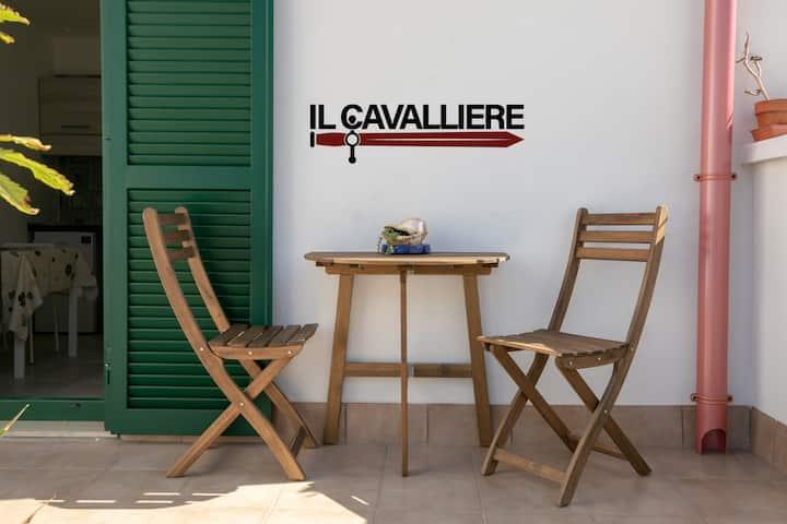 Il Cavalliere Bed & breakfast. Terrazza privata.