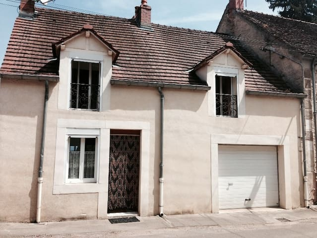 Quaint Upgraded House Burgundy in Veuvey-Sur-Ouche - Bligny-sur-Ouche - Rumah