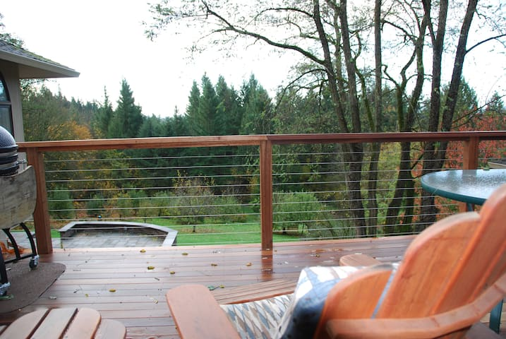 Accessible back deck