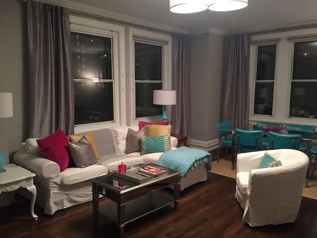 Chic 2 Bedroom Rittenhouse Condo (1100+ Sq ft) - Philadelphia - Appartamento