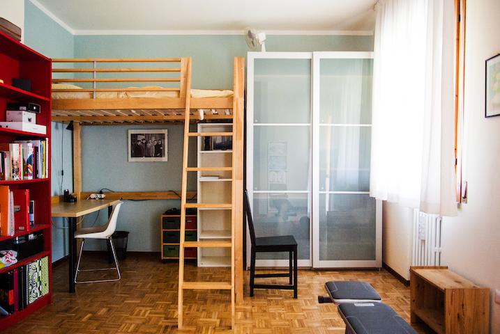Camera singola con balcone