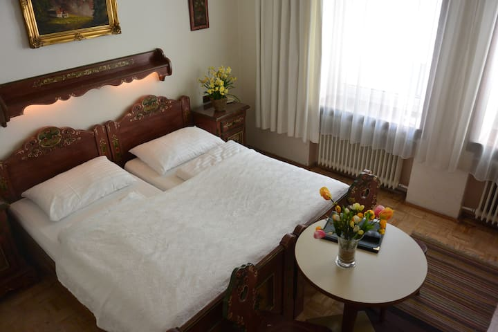 A Triple room with Breakfast in our B&B near Salzburg main station and Old Town