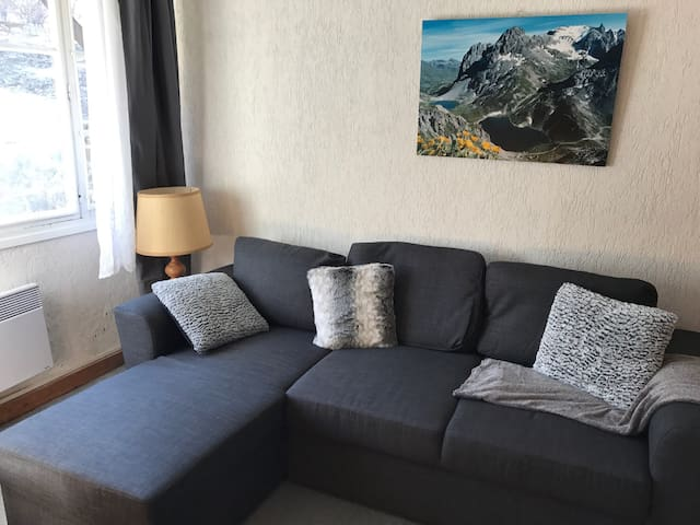 Charmant appartement 6pers Valloire - Valloire - Apartamento