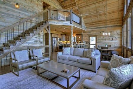 Brand New Luxury Cabin- Aska Adventure Blue Ridge!
