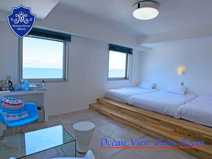 [Sea side triple] Ocean view deluxe