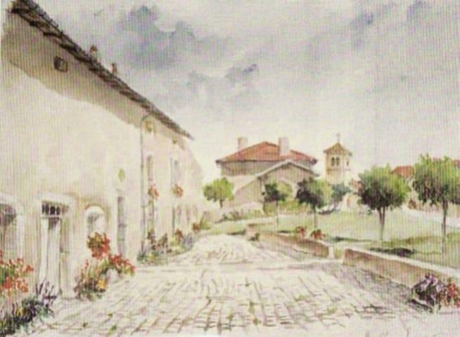 maison d'hôtes sainte geneviève - Sainte-Genevieve - บ้าน