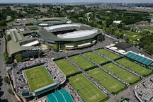 Walking distance to Wimbledon tennis
