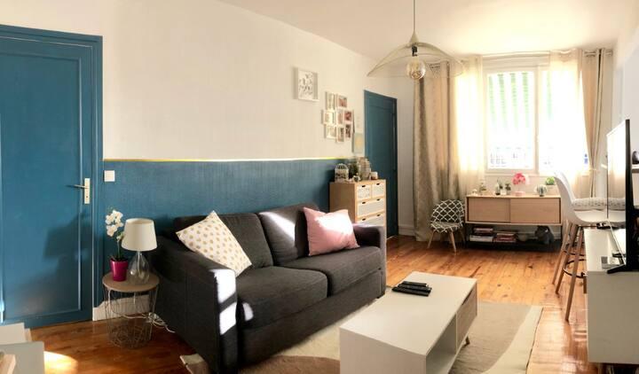 Appartement calme proche Paris & Roland Garros