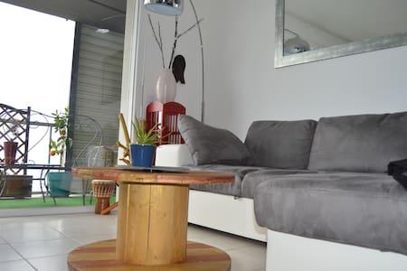T2 balcon-garage vue Pyrénées proche Pau&magasins - Idron - Apartment