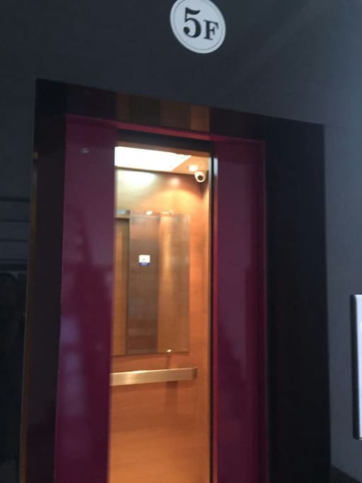 方便的电梯上下楼