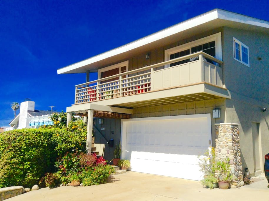 Your 2nd. story, ocean view, Beach House with South facing deck.