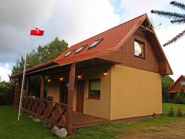 Dom całoroczny w Kopalinie - wejherowski - Casa