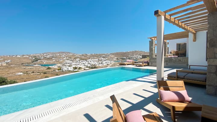 New House Close to 2 Beaches and Mykonos Town