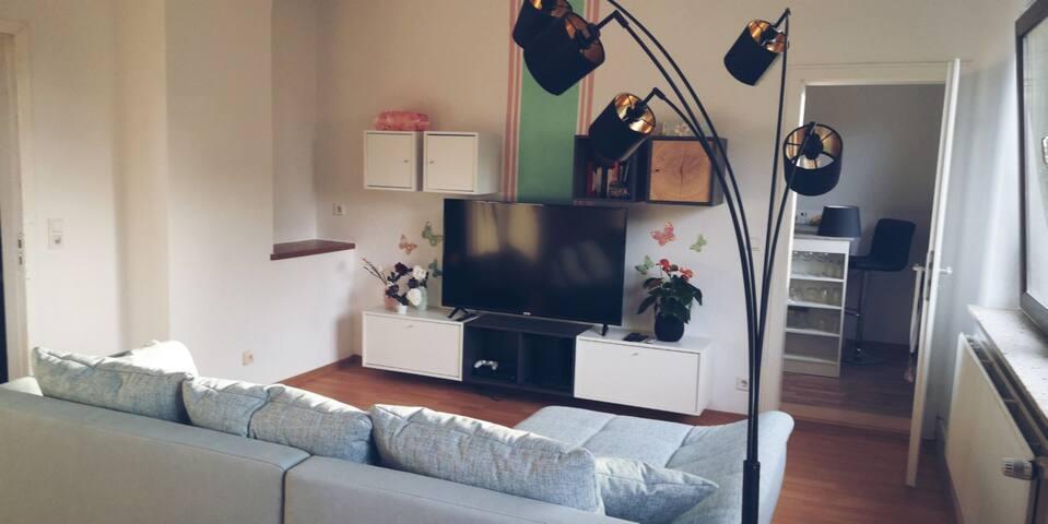 Idyllische 90qm Wohnung in Bremen-Blumenthal.