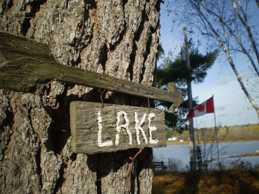 Directions to lake