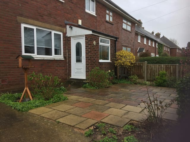 House with lots of garden space