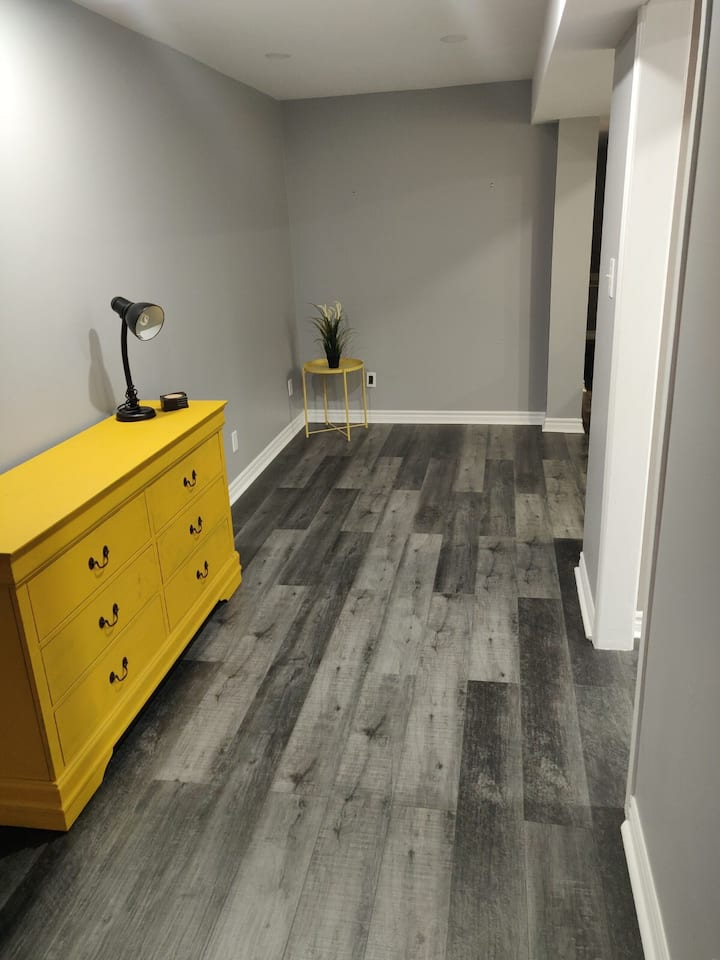 Clean, Bright & Private Walk-out Basement