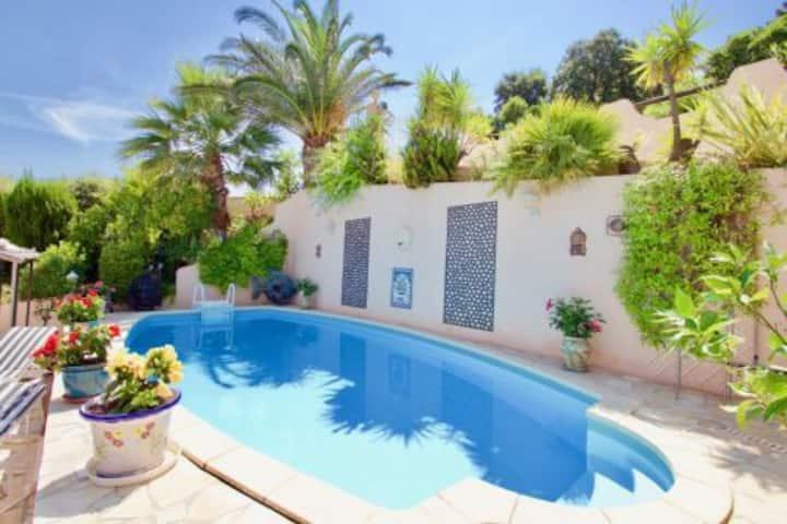 VILLA Aux Issambres-piscine privée-600m de la mer