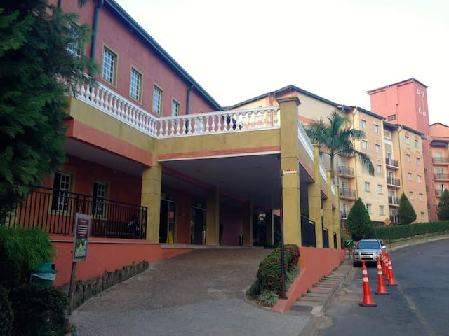 Lindo apartamento no Hotel Giardino, Rio Quente/GO