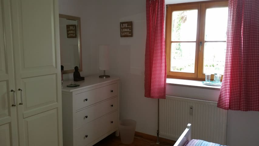 Private room double-bed Bavaria - Rottenbuch - 家庭式旅館
