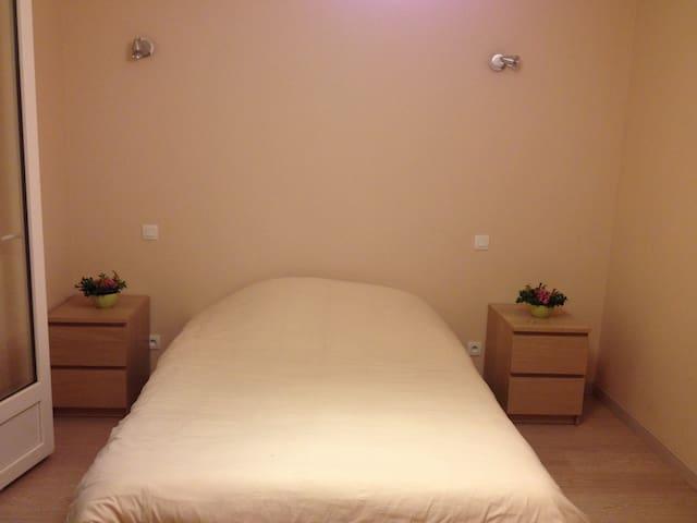 Chambre calme et confort maison Individuelle