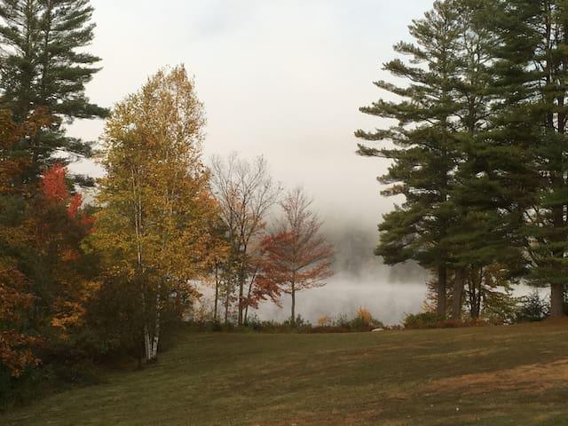 Evergreen Lakeside Adirondack Retreat