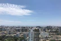 Preciosa vista desde el departamento y desde las zonas comunes / Amazing view from apartment and common areas