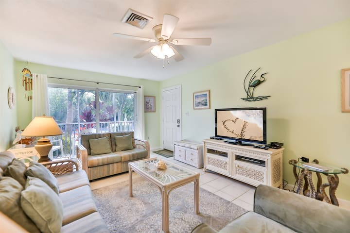 SEA SHELLS OF SANIBEL #39- PERFECT CONDO FOR A FAMILY GETTAWAY ON SANIBEL! 3 NIGHT MIN. STAY!