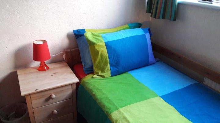 Single room, use of facilities, Bromley Cross