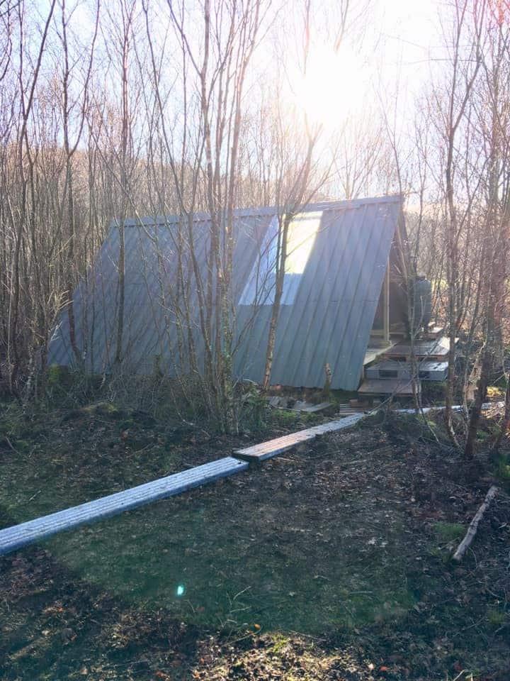 Snowdonia Woodland A-Frame Bunkhouse