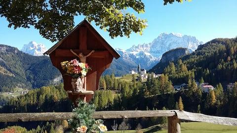 Appartamento con vista Dolomiti