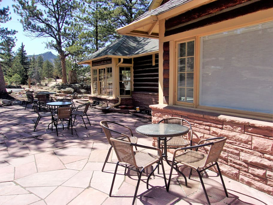 Lodge patio
