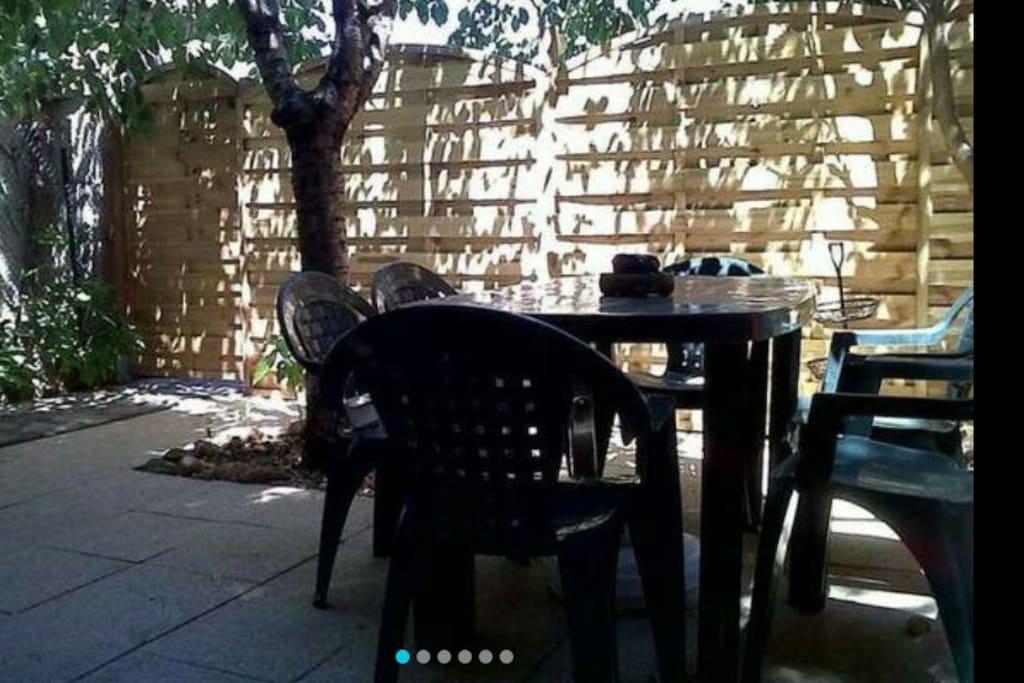 Jardin privé -
