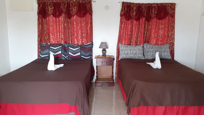 VIVIENNE'S HOUSE #A5 AC++WIFI+TV, Negril rd