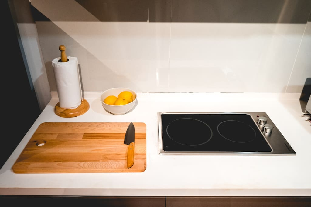 Induction cooking provided