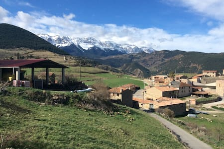 Vistes inmillorables al Cadí - Montellà