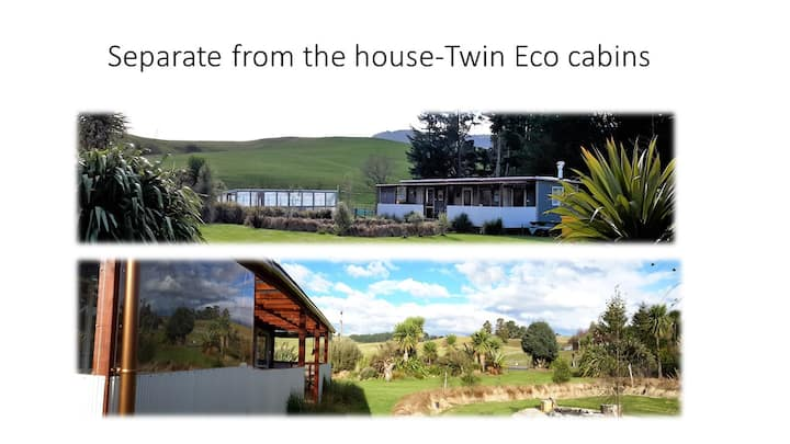 ECO CABINS - HEART OF PEACEFUL FARM, RIVER COUNTRY