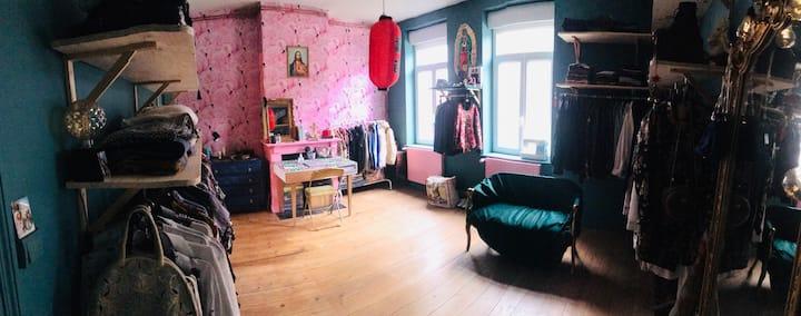 Chambre de 15m2 avec lit 2 places tout confort