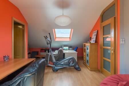 Buhardilla de 50 m2 y baño privado - Alcalá de Henares - Bed & Breakfast