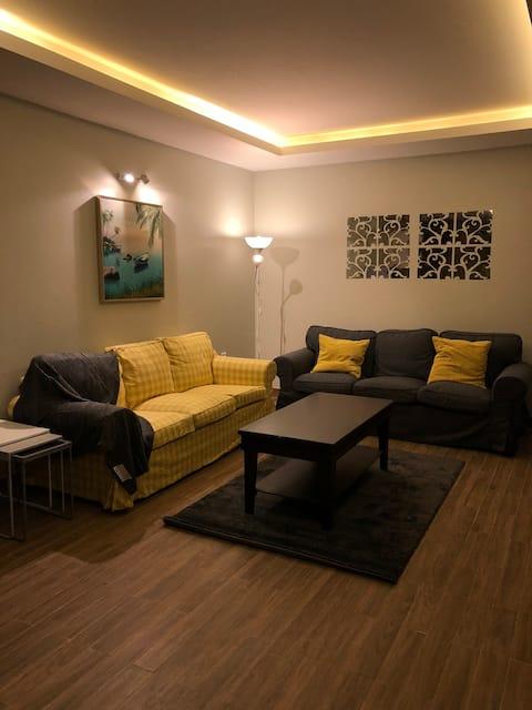 شقة بتصميم فندقي