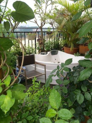 一个艺术家的私享花园 - Guangzhou - Haus