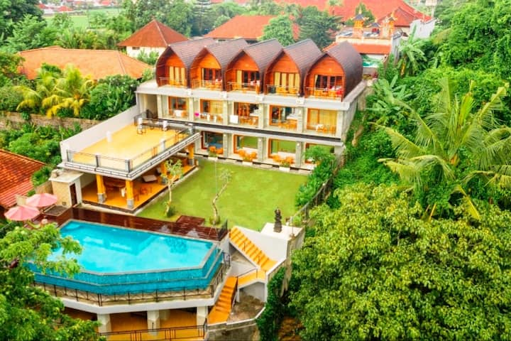 ★Resort★ With Pool & Jungle View / 5 min Beach