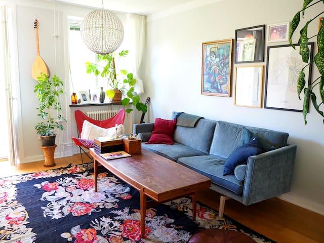 Spacious apartment close to SoFo, Globen & Sthlm C
