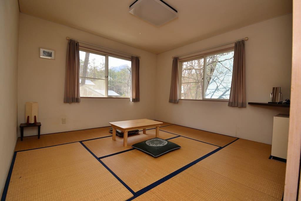 Tatami mats room