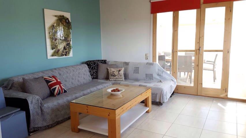 See view comfy apartment - Ξεροπόταμος - Lejlighed