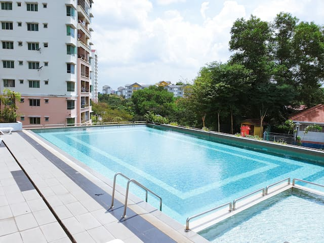 【HSGroup】Zennith Suites 3 Rooms【Parking❤WiFi】